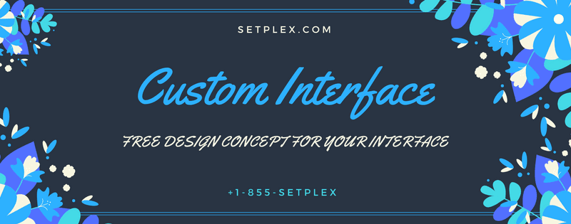 Custom Interface free plus interface