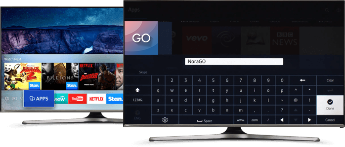 Installing NoraGO Application on Samsung Smart TV | SetPlex