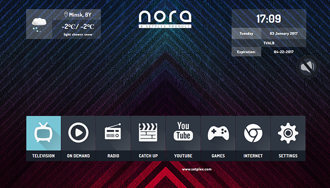 custom interface Nora middleware
